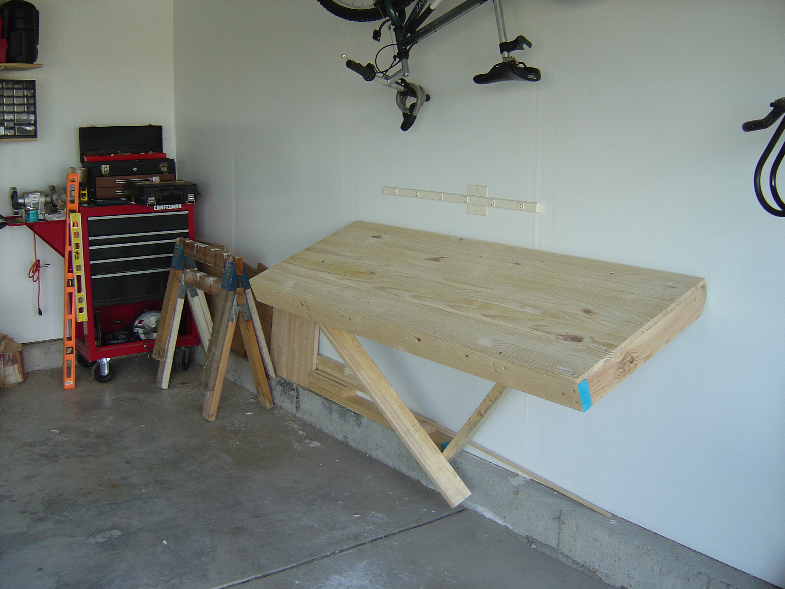Garage Workbench 2x4 Images Galleries With A Bite